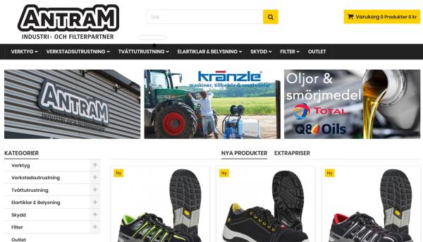 Antram - Handverktyg på nätet